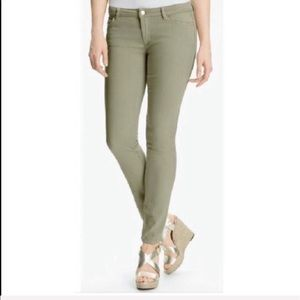 Michael Kors Izzy Cropped skinny jeans green 8